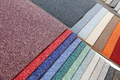 Carpet flooring expertly installed by RNB Flooring in the Phoenix metro area