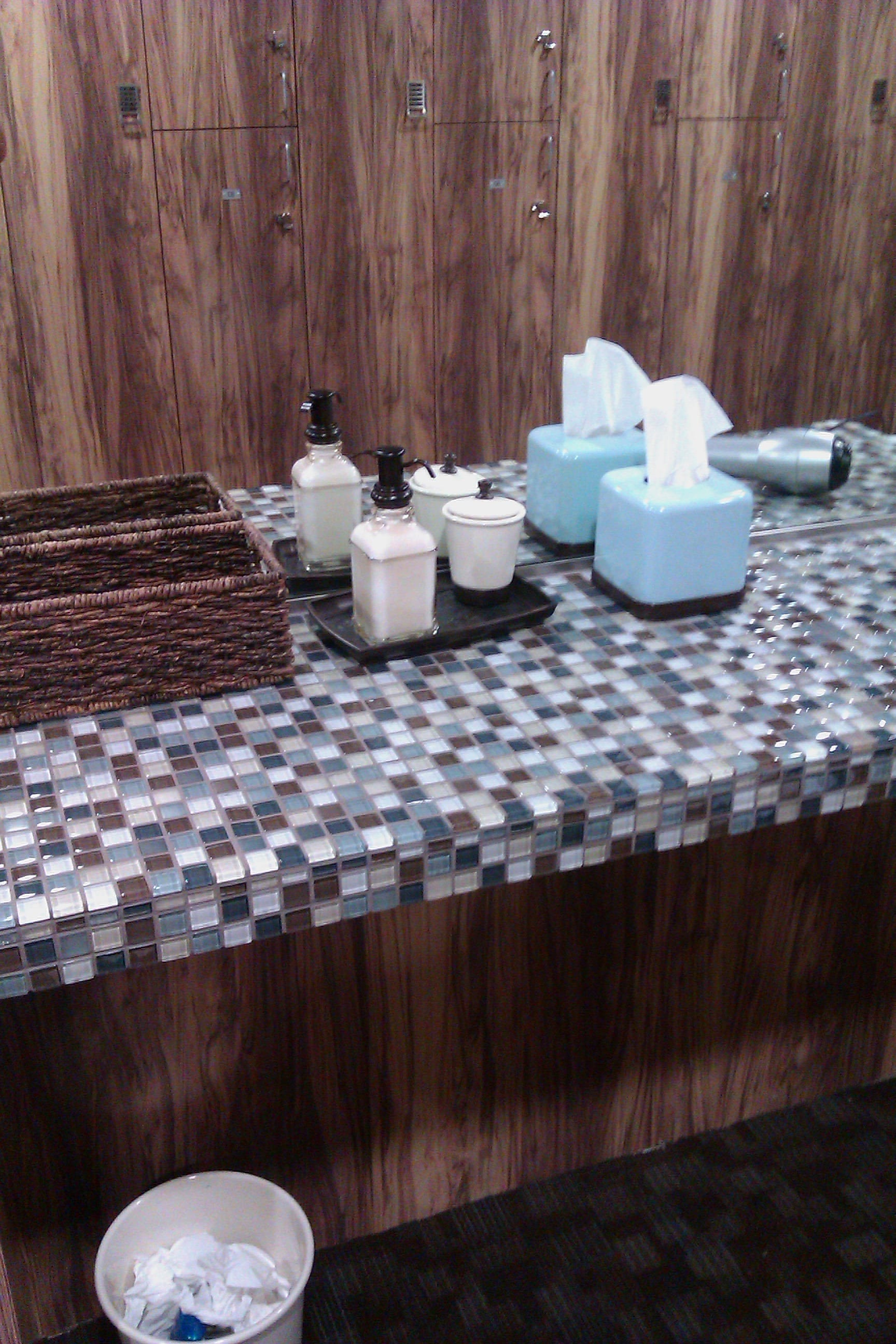 Mountainside Fitness Center Bathroom Remodel