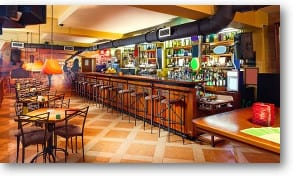 Durable flooring for restaurants and bars expertly installed by RNB Flooring of Phoenix AZ