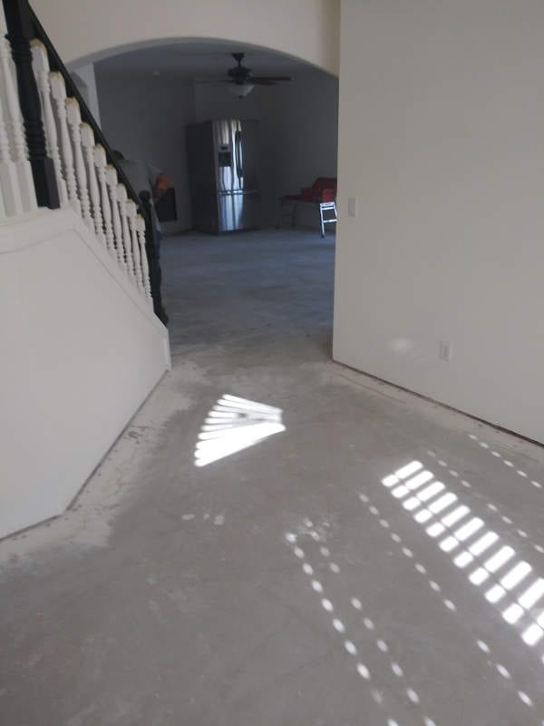 Planks should be installed with seams perpendicular to the main light source.