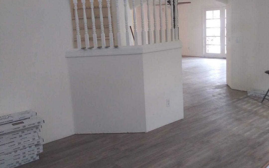 Easy to Care for Vinyl Plank Floor
