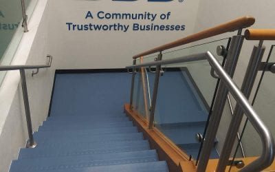 New Rubber Stairs Help BBB Project Professional Image