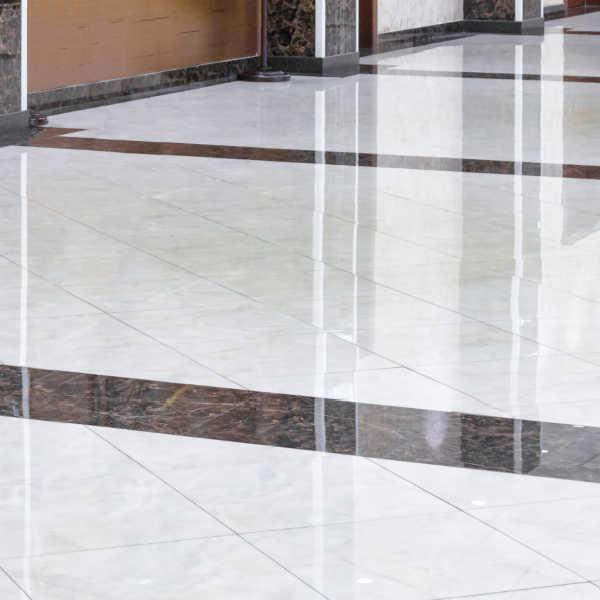 commercial tile floor